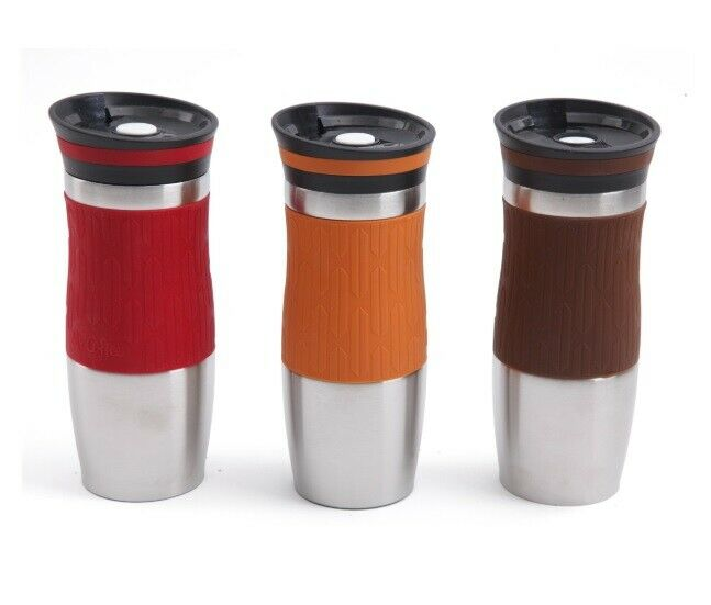 Stainless Steel Thermal Double Wall Tumbler Insulated Vacuum Seal Coffee Tea Mug