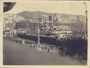 Port Da Genova Italia Foto snapshot Vintage Analogica Ca