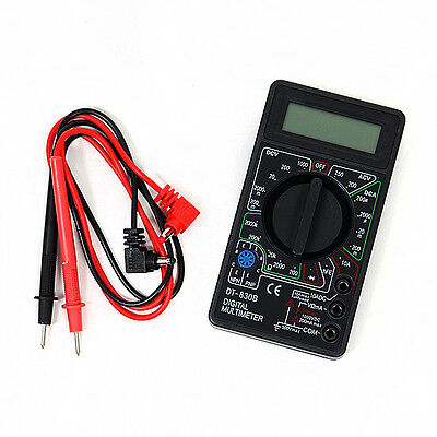 HOT NEW LCD DIGITAL VOLTMETER AMMETER OHM MULTIMETER DT830