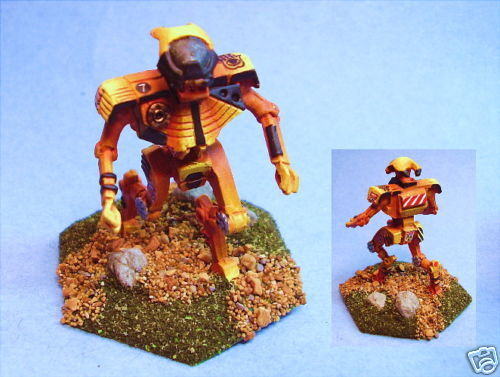Battletech painted Wight battlemech BF