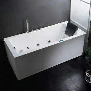 72 X 32 Ariel AM154JDTSZ 70 Left Platinum Whirlpool Massage Bath