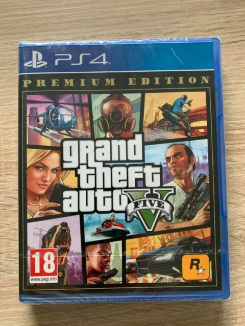 Grand Theft Auto V: Premium Edition (Sony PlayStation 4, 2019)