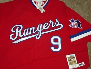 new product be2bd e4166 Details about NEW VTG AUTHENTIC PETE O'BRIEN TEXAS RANGERS 1984 MITCHELL &  NESS ALT JERSEY 56