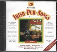CD 20T FAVOURITE IRISH PUB SONGS JOHNNY McEVOY, PADDY REILLY ..... NEUF SCELLE