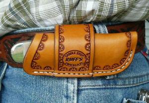 Medium-Leather-Horizontal-Cross-Draw-Pocket-Knife-Sheath-Ruff-s-Saddle-Shop-Tan