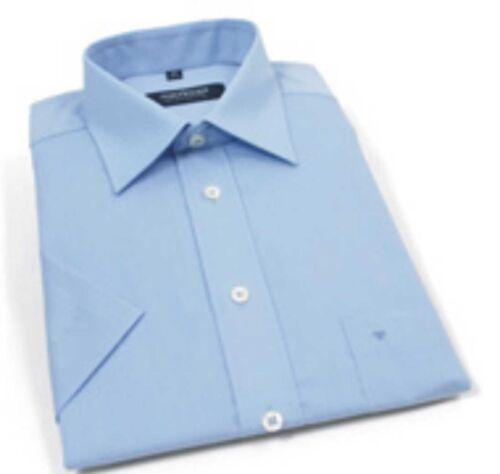 Seidensticker Uomo-Camicia superiore blu 1//2-arm KW 41 NUOVO-te