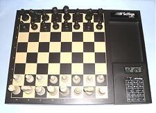 Ideal Regalo estoque computadora de ajedrez electrónico por SciSys de estilo vintage y retro