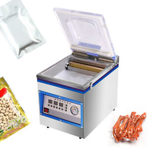 Digital Vacuum Packing Sealing Machine Sealer 1.8L Food Packaging Chamber New US