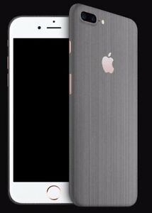 get cheap 4576a e8130 Details about iPhone 7 plus dbrand premium skin titanium TOP OF THE LINE  with apple cutout