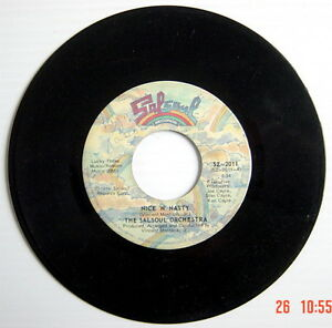 ONE-1976-039-S-45-R-P-M-RECORD-THE-SALSOUL-ORCHESTRA-NICE-N-039-NASTY-NIGHT-CRAWLE