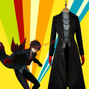 Game Persona 5 Kaitou Costume NEW Japan Cosplay Suit Pants Custom Made