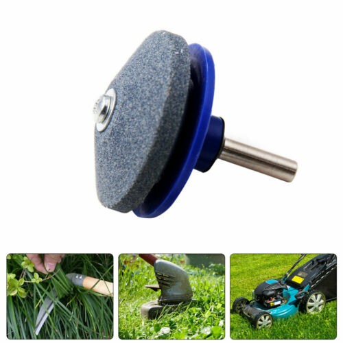New Lawn Mower Sharpener Lawnmower Blade Sharpening Tool for Power//Hand Drill