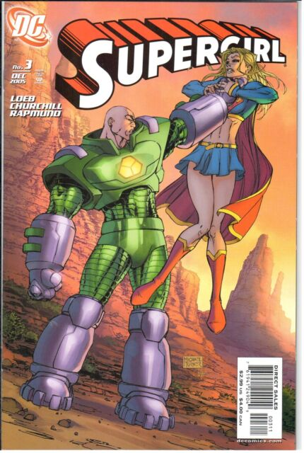 Supergirl (2005) #3 December 2005 DC NM- 9.2