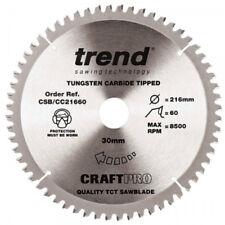 Trend CSB//CC21648 Circular Saw Blade Crosscut 216mm x 48T x 30mm