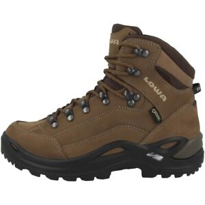 Lowa-Renegade-GTX-mid-Women-Gore-Tex-Outdoor-Hiking-Shoes-Taupe-320945-0436