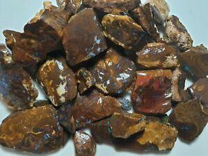 Australian-Boulder-opal-rough-Koroit-Parcel-2240-cts-lapidary-BRMAR06