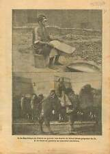 WWI War Liberia Africa / Republic of China Camel Manchuria War 1917 ILLUSTRATION