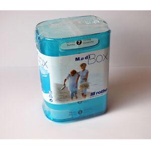 ROTHO-Pillenbox-Medikamentendosierer-7-Faecher-Tablettenbox-Pillendose-Box-NEU