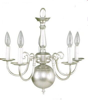 Silver Mist 5 Light Chandelier