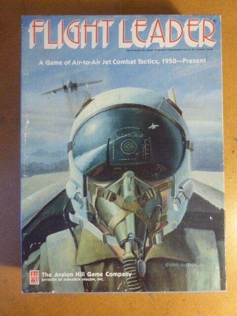 Flight leader non perforé & complet par Avalon Hill conseil de guerre-jeu