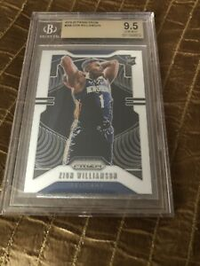 2019-20-PANINI-PRIZM-ZION-WILLIAMSON-248-ROOKIE-RC-BGS-9-5-GEM-MINT-INVEST-NOW