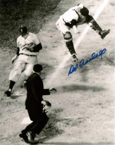 Milw Braves DEL CRANDALL Signed 8x10 Photo #2 AUTO 11 x All Star 1957 WS Chp