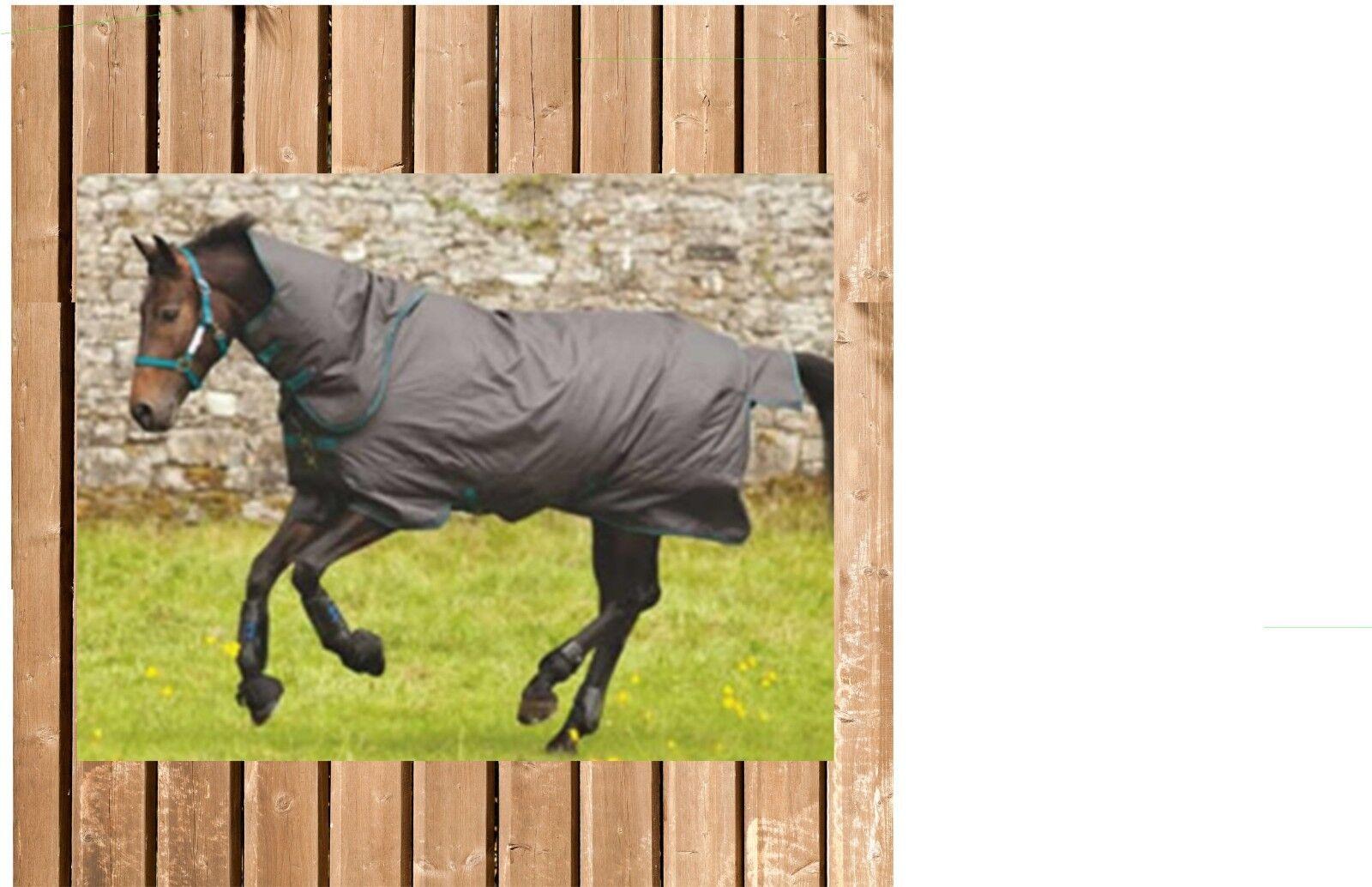 Horseware AMIGO Hero 6 Plus Medium mit Halsteil, 200 g, excalibur, Amigo Hero
