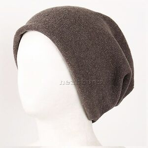 be6146f1c54 OPEN TOP BEANIE MUFFLER unisex slouchy baggy winter Cap man woman ...