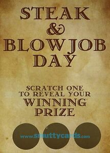 International steak and blow job day