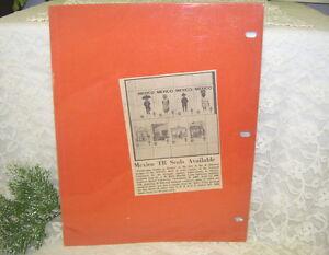 Christmas Seals Newspaper Article Mexico TB Seals 1970 71