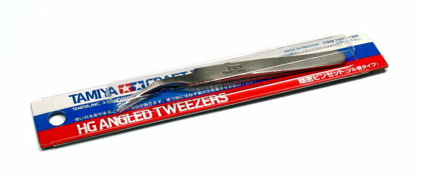 Tamiya Model Craft Tools HG Angled Tweezers 74047