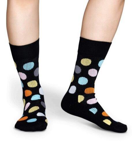 NWT Skarpety Happy Socks Athletic Big Dot Sock ATBD27-099 Unisex Fun Socks