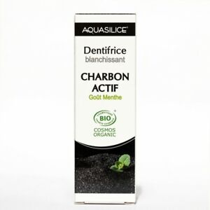 Aquasilice dentifrice blanchissant  charbon végétal 50 Ml