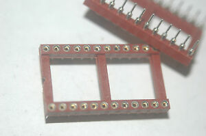 THOMAS-amp-BETTS-CDF2024AU-24-Pin-Dip-Machined-Milled-Socket-New-Quantity-10