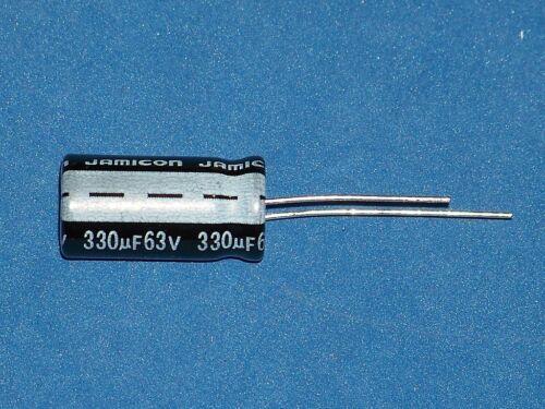 Ø10x20mm 330µF // 63V // 85°C Elko radial 5 Stk. 330uF