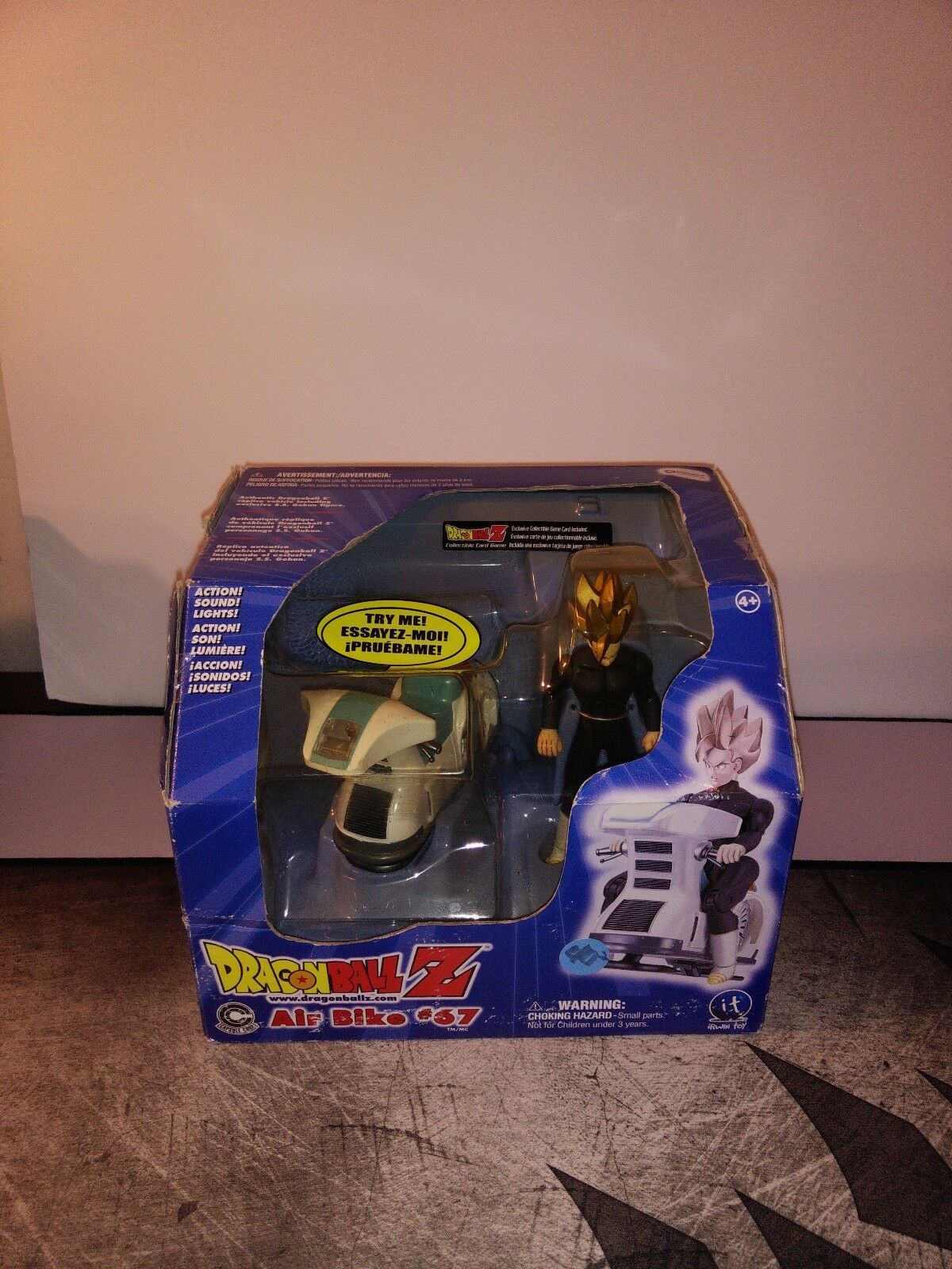 DragonBall Z Air Bike w  S.S. Gohan Action Figure Toy  Please Read
