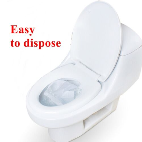 1 Pack//10pcs Disposable Paper Toilet Seat Cover/' For Camping Travel Sanitary New