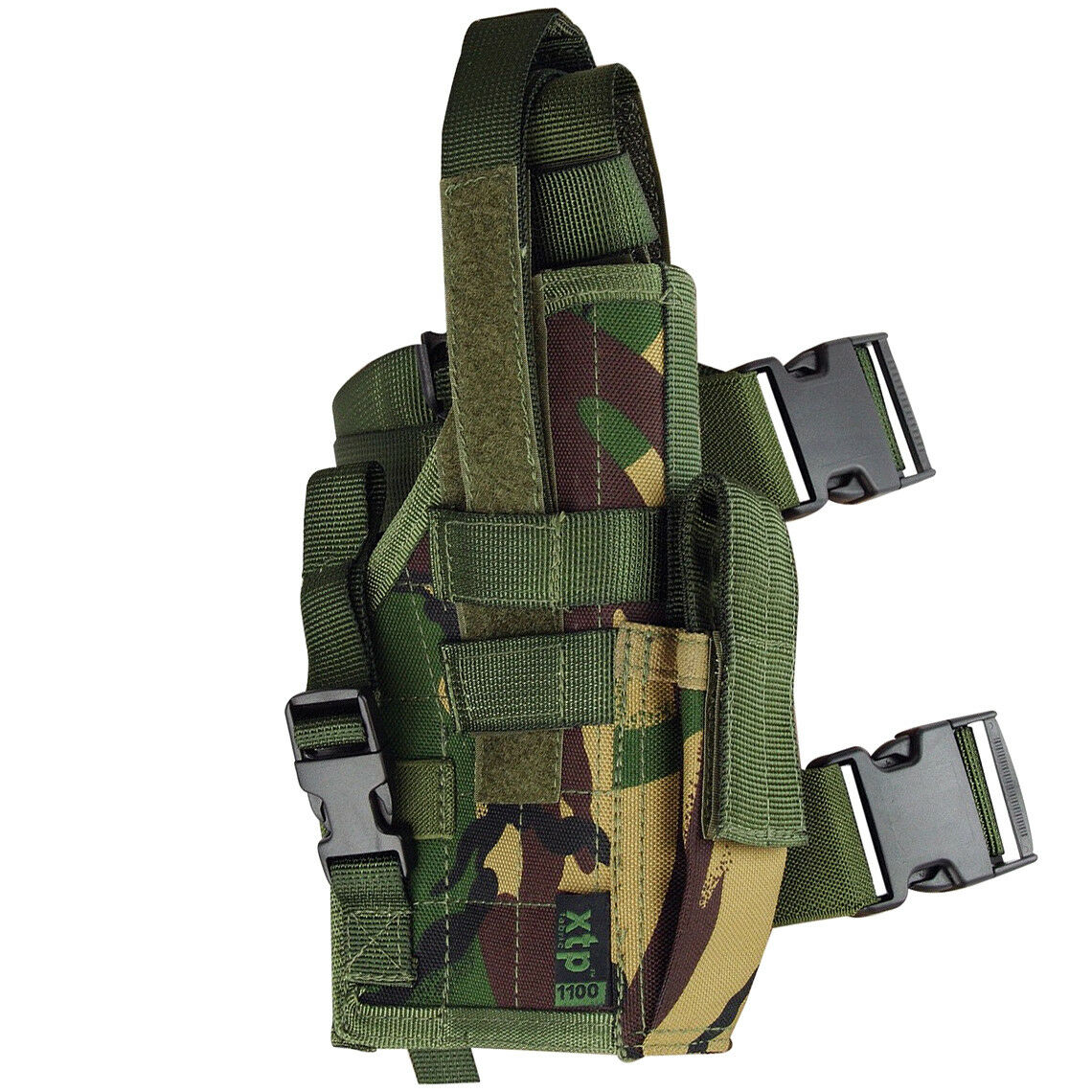 TACTISCHE ARMY LEG PISTOL HOLSTER COMBAT MODULAR MOLLE SYSTEM DPM CAMOUFFLAGE