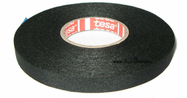Tesa Motor Vehicle Fabric Tape Type 51026 9mm X25m Insulating Band up to 150°C