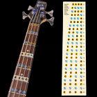 1x Gitarre Griffbrett Note Sticker Tasten Aufkleber Tonleiter Label Aufkleber
