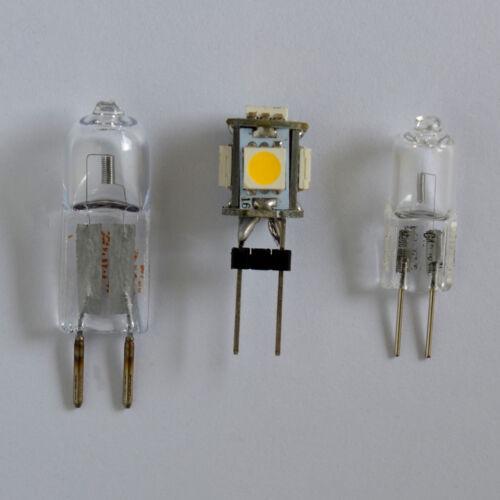 G4 LED 1 Watt mit 5 SMD warmweiß 12V DC Lampe Leuchtmittel Birne Halogen