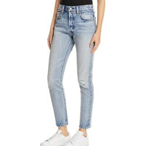 LEVIS-NEW-Women-039-s-501-White-Oak-Cone-Denim-Slim-Skinny-Jeans-TEDO