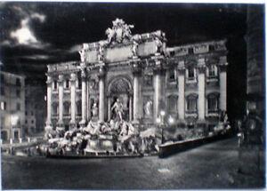 1965-cartolina-ROMA-notturna-Fontana-di-Trevi