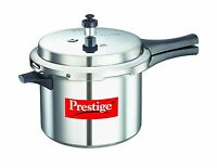 Prestige Popular Aluminium Pressure Cooker 5 Liters 5 L Free Shipping