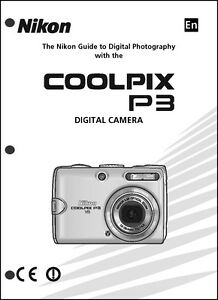 nikon coolpix p3 digital camera user guide instruction manual ebay rh ebay com nikon coolpix b500 user manual nikon coolpix p900 user manual