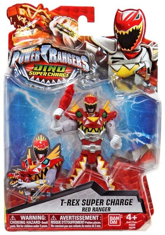 Power  Rangers Dino Super Charge T-Rex Super Charge rouge Ranger Action Figure  100% neuf avec qualité d'origine