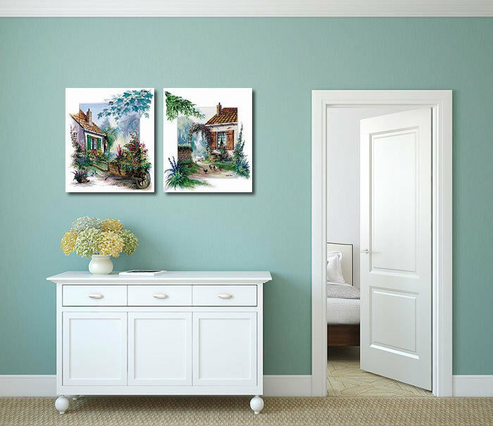 Reint Withaar: The blossomming Jardin Barrow Châssis-Image Toile Jardin blossomming Idylle 3f283f