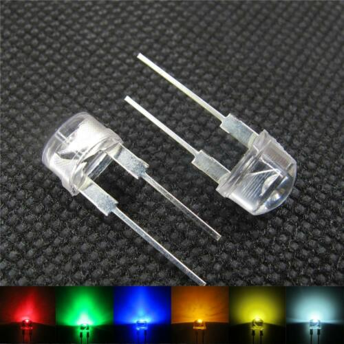 20x 8mm LED Strawhat 0,5W Power LEDs 0.5W 150 mA Widerstände 8 mm