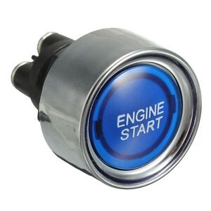 Universal-fit-Car-Engine-Start-Push-Button-Switch-Ignition-Starter-Kit-Blue-LED