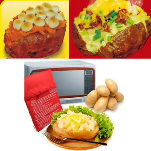 Image Is Loading Washable Potato Cooker Bag Baked Microwave Cooking